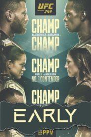 UFC 259: Blachowicz vs. Adesanya – Early Prelims