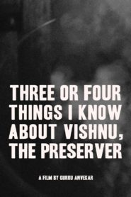 Three or Four Things I Know About Vishnu, The Preserver