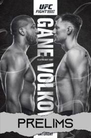 UFC Fight Night 190: Gane vs. Volkov – Prelims